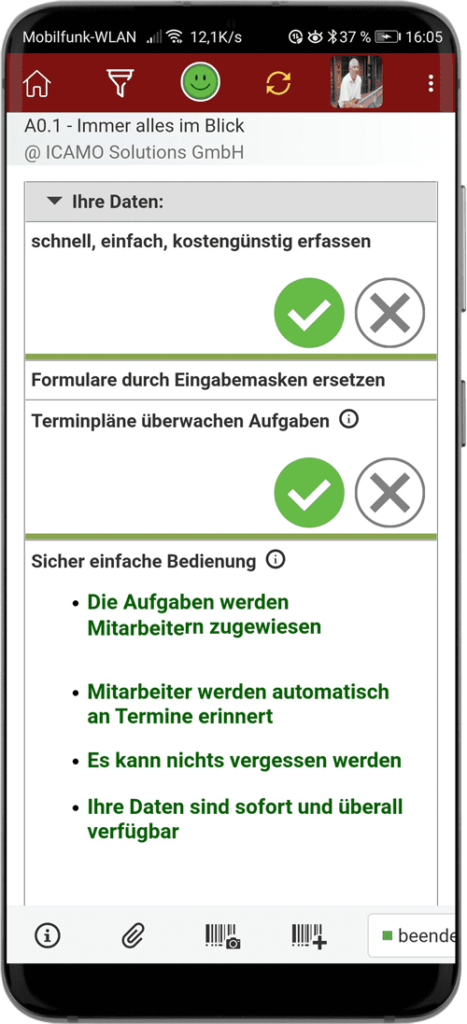 Digitales Lebensmittel Qualitätsmanagement