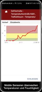 Kostengünstige digitale Temperaturüberwachung durch mobile Sensoren